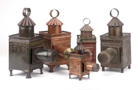 Image of French ornate lanterns