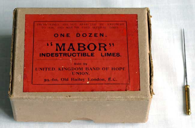 Box of Mabor Limes with Pricker