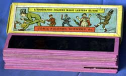 Image of a stack of Panorama children's slides
