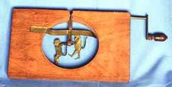 Image of a Brass Acrobatic slide